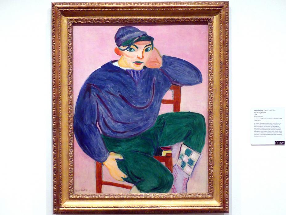 Henri Matisse: Der junge Matrose II, 1906