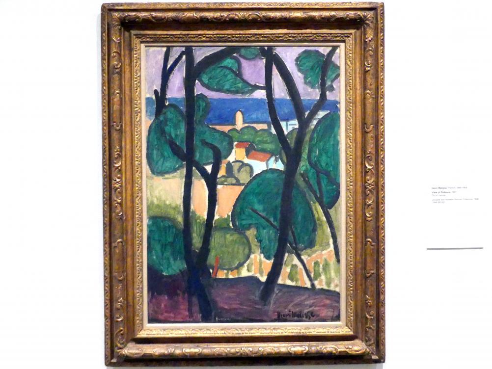 Henri Matisse: Blick auf Collioure, 1907