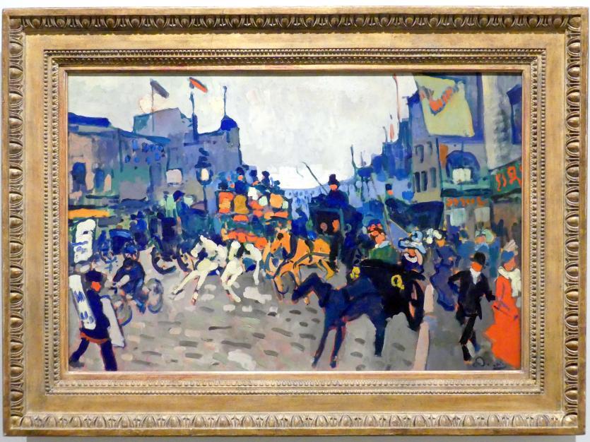 André Derain: Regent Street London, 1906