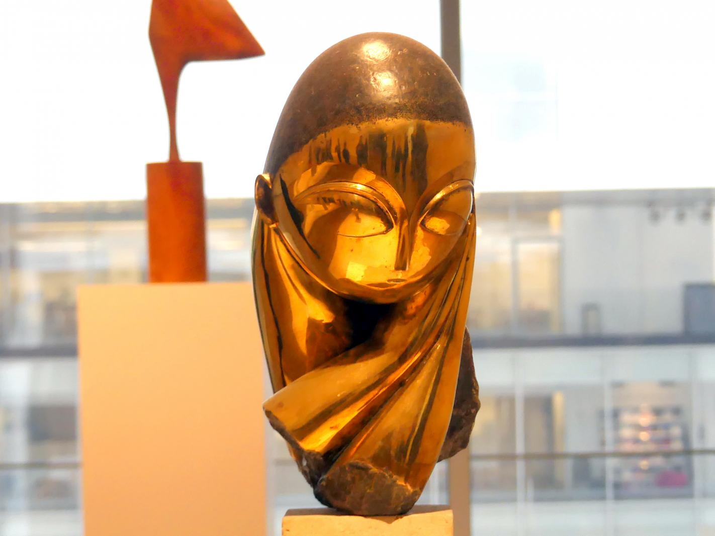 Constantin Brâncuși: Mademoiselle Pogany, Version I, 1913
