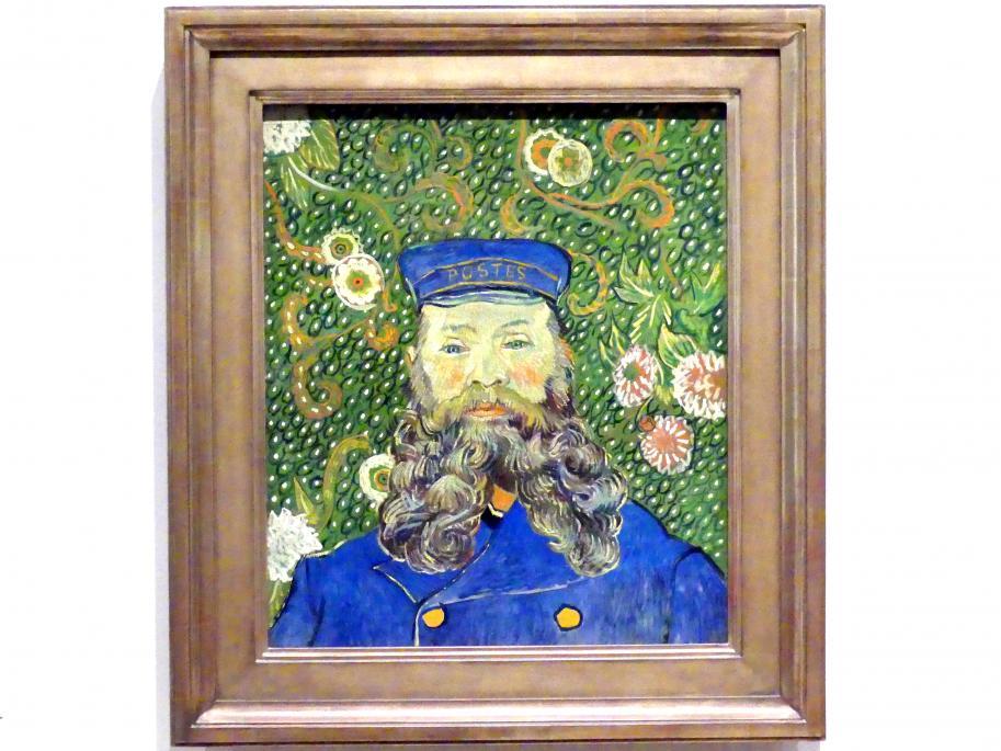 Vincent van Gogh: Porträt des Briefträgers Joseph Roulin, 1889