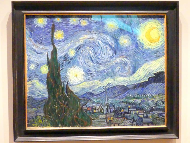 Vincent van Gogh: Sternennacht, 1889