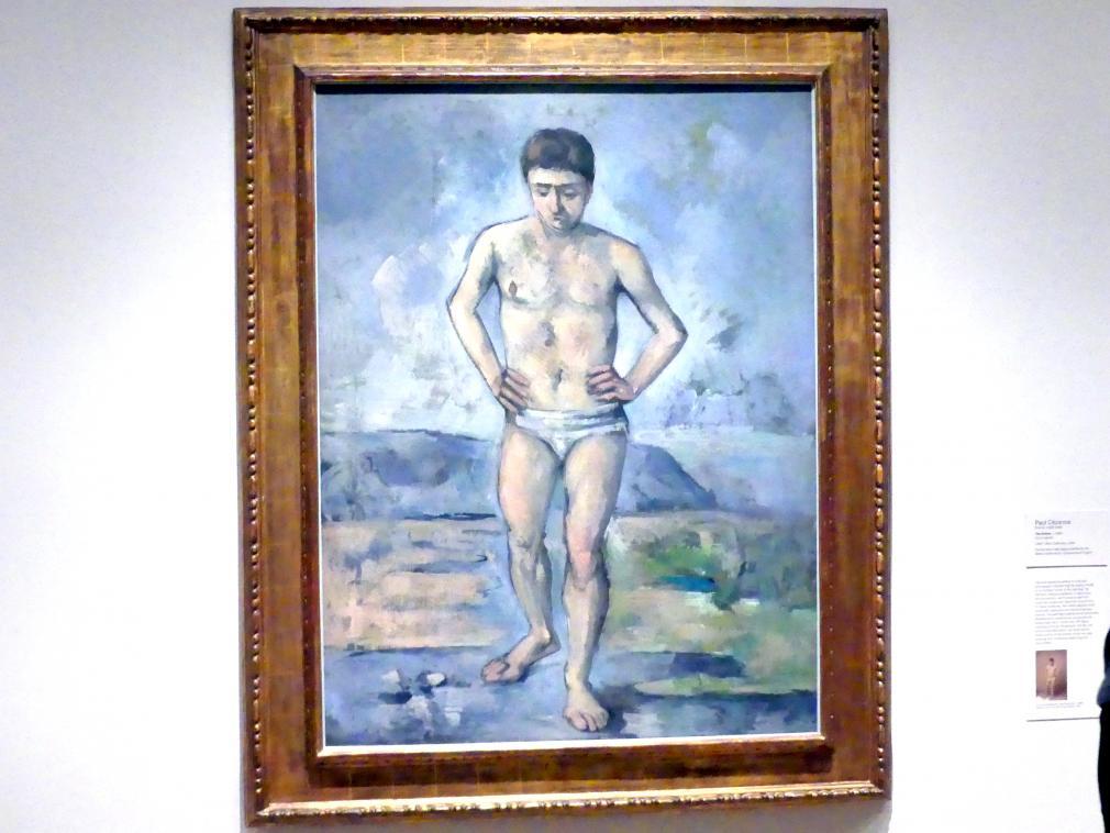 Paul Cézanne: Badender, um 1885