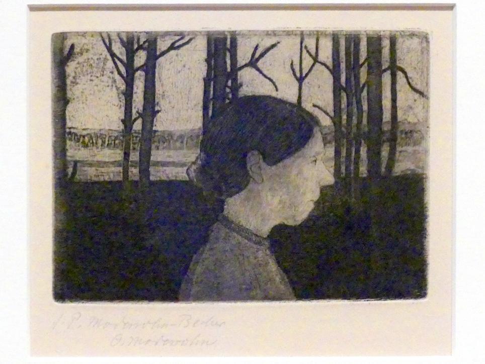 Paula Modersohn-Becker: Porträt einer Bäuerin, um 1899 - 1902