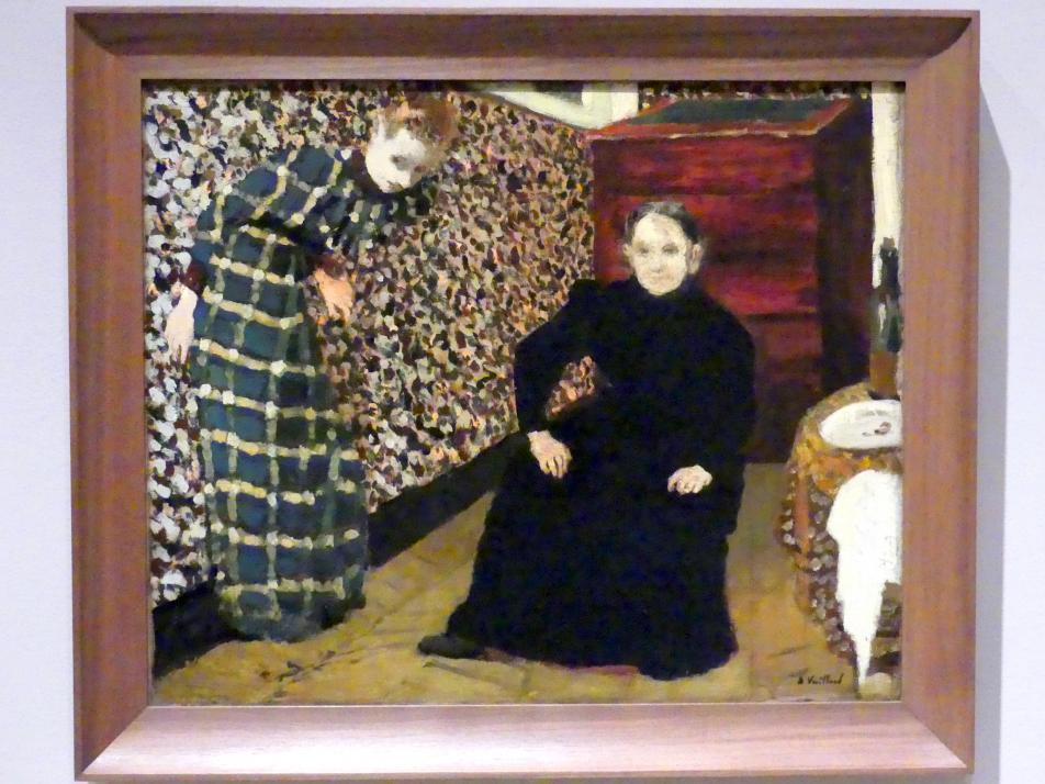 Édouard Vuillard: Interieur, Mutter und Schwester des Künstlers, 1893