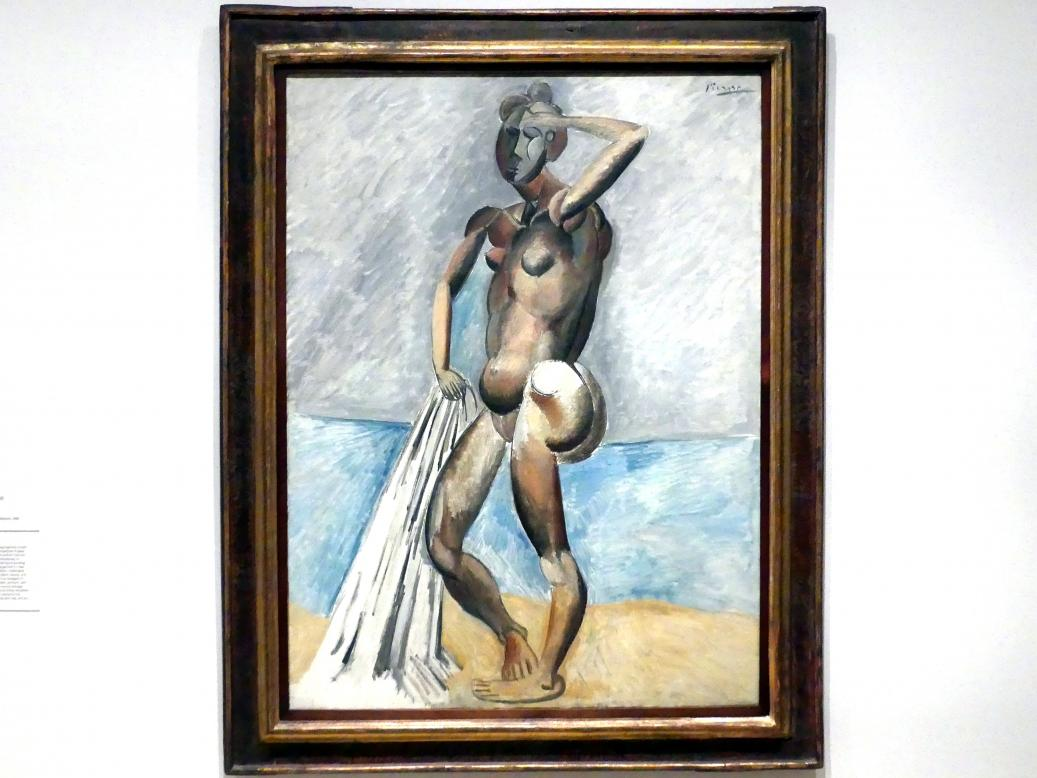 Pablo Picasso: Badende, 1908 - 1909