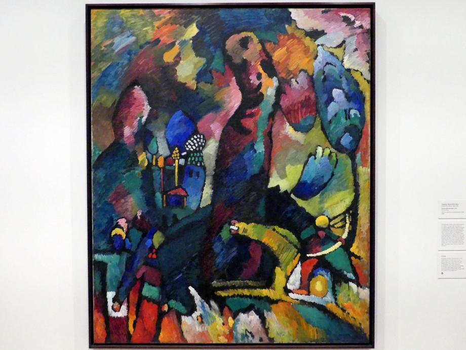 Wassily Kandinsky: Bild mit Bogenschützen, 1909