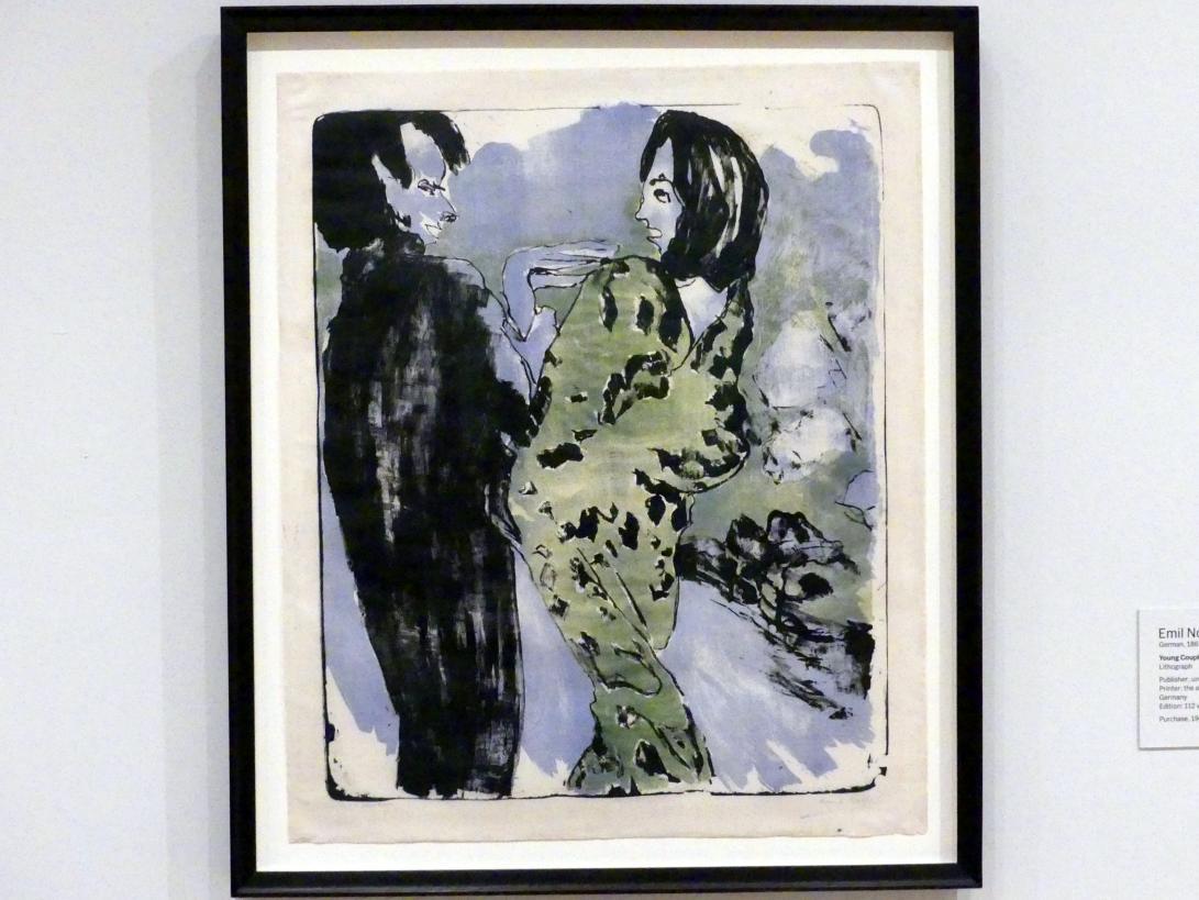 Emil Nolde: Junges Paar, 1913