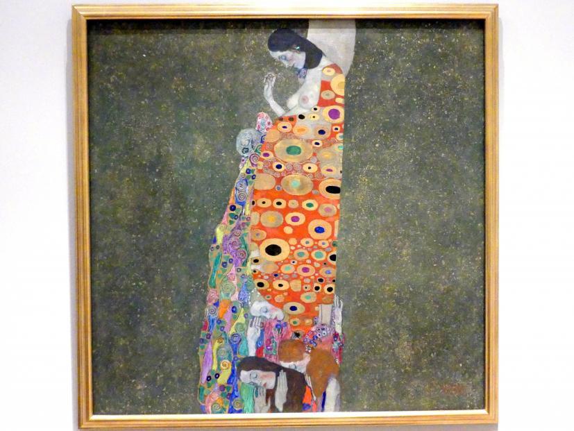 Gustav Klimt: Die Hoffnung II, 1907 - 1908