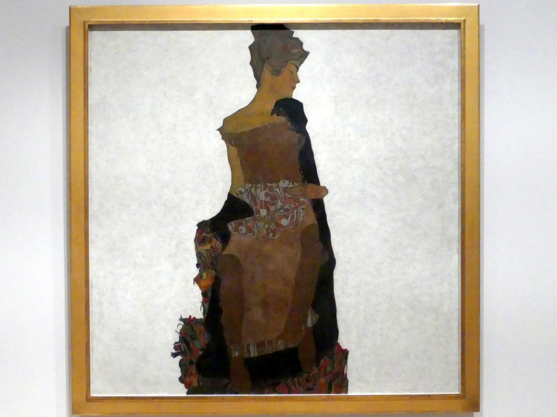 Egon Schiele: Porträt von Gerti Schiele, 1909