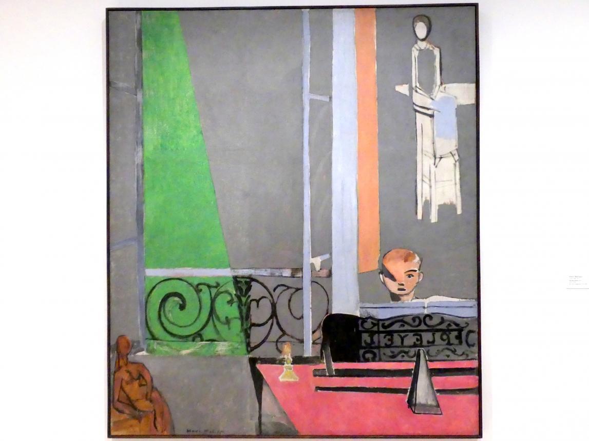 Henri Matisse: Die Klavierstunde, 1916