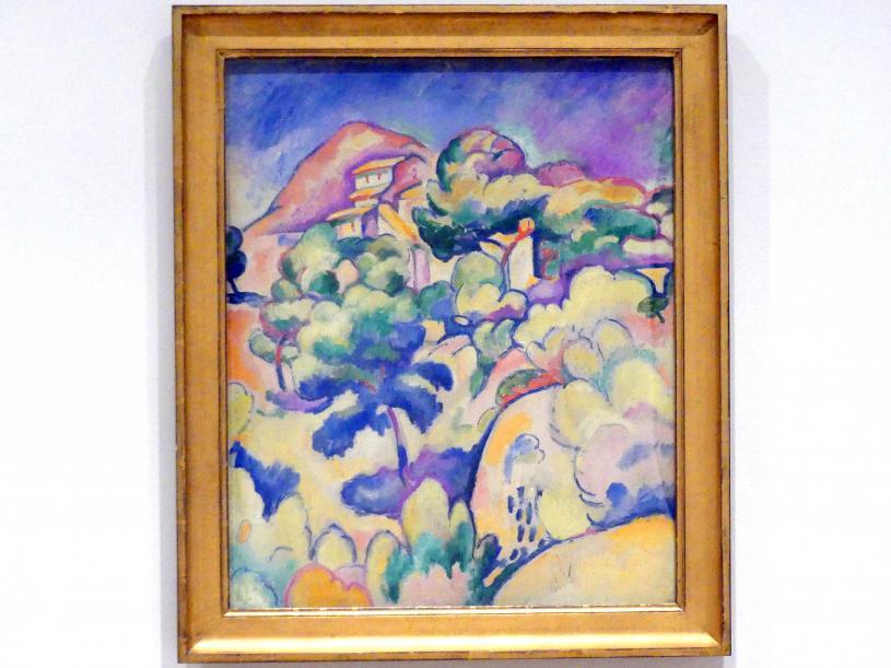 Georges Braque: Landschaft bei La Ciotat, 1907
