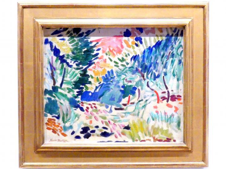 Henri Matisse: Landschaft bei Collioure, 1905