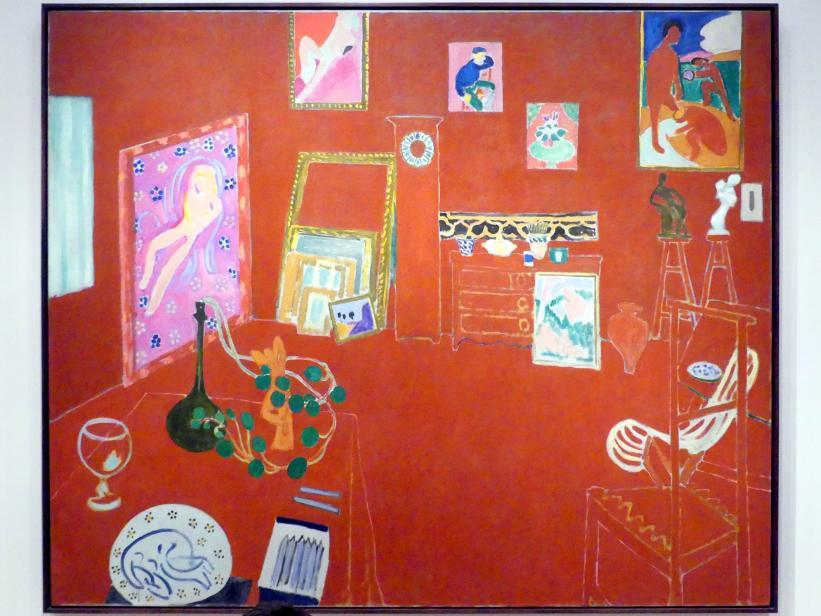 Henri Matisse: Das Rote Studio, 1911