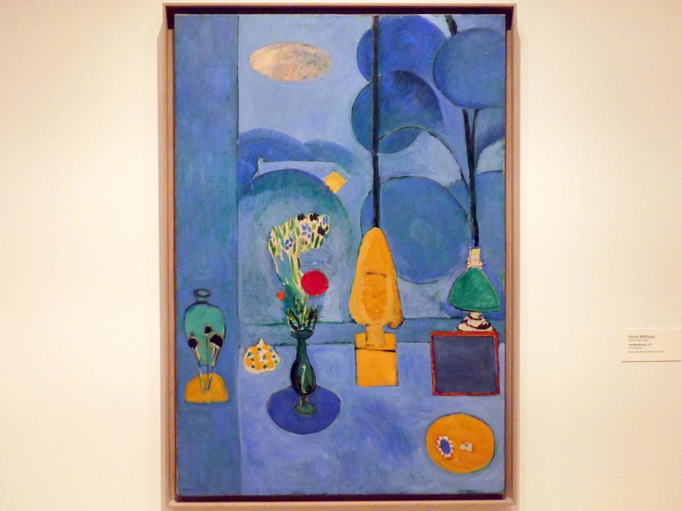 Henri Matisse: Das Blaue Fenster, 1913