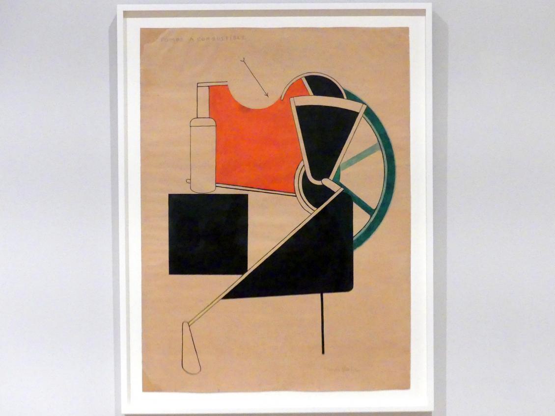 Francis Picabia: Benzinpumpe, 1922