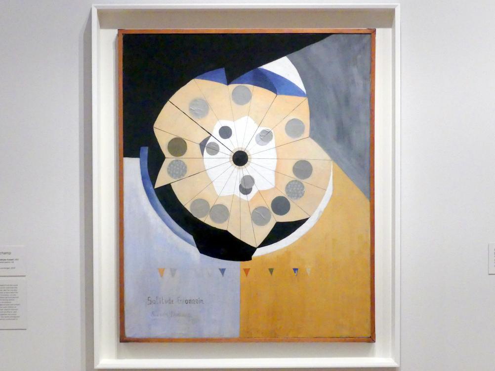 Suzanne Duchamp: Funnel der Einsamkeit, 1921