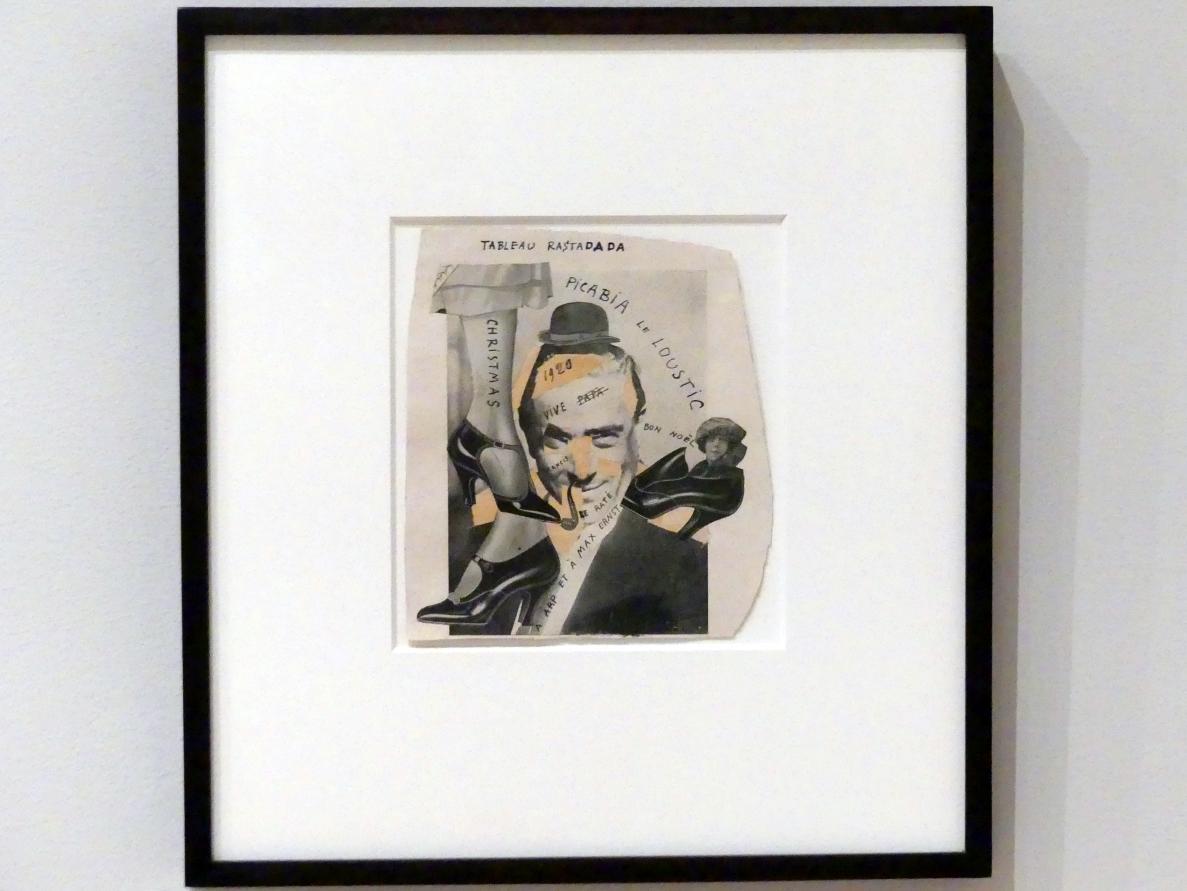 Francis Picabia: Tableau Rastadada, 1920