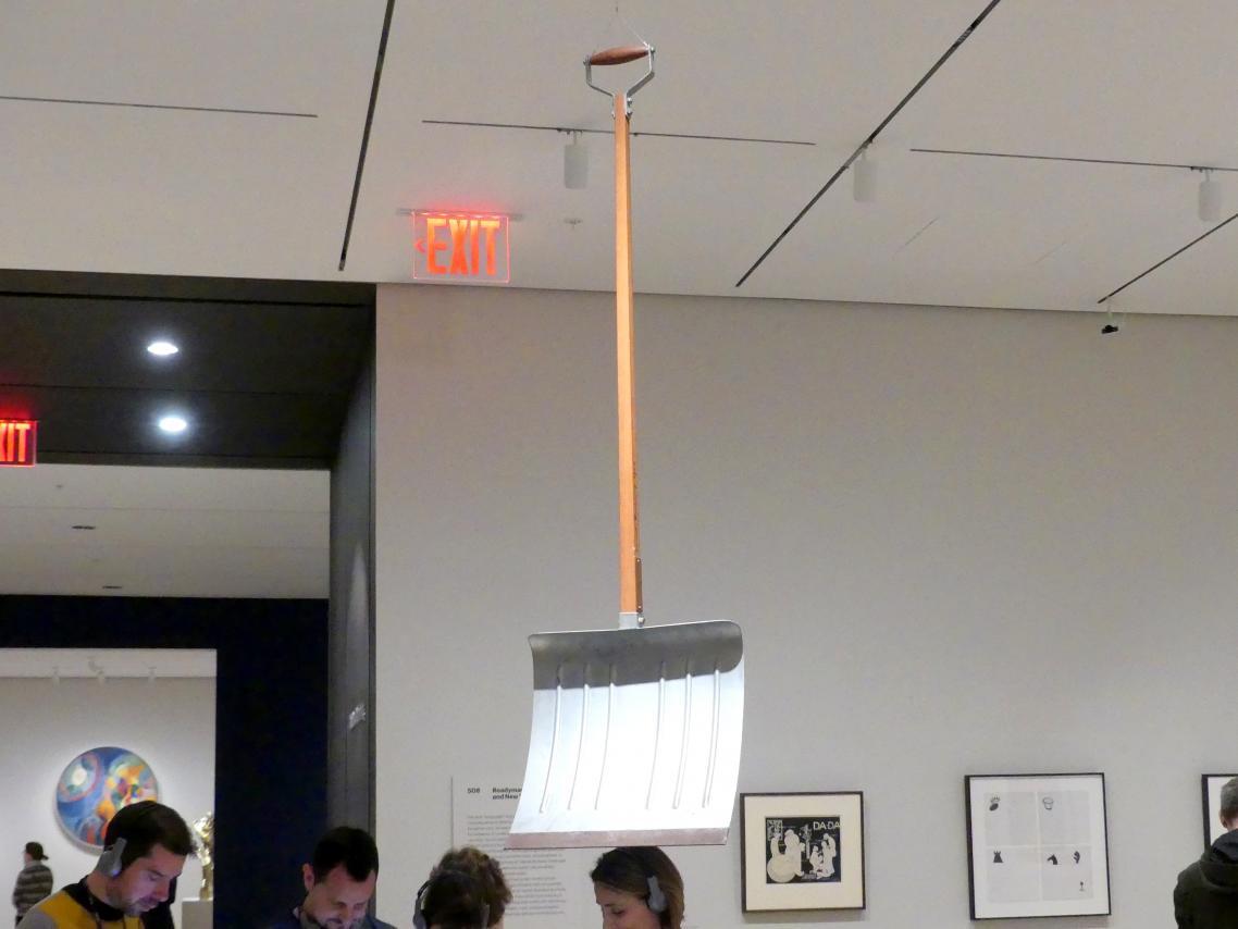 Marcel Duchamp: Vor dem gebrochenen Arm, 1964