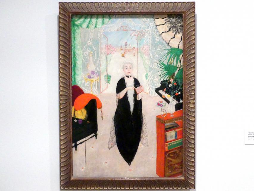 Florine Stettheimer: Porträt meiner Mutter, 1925