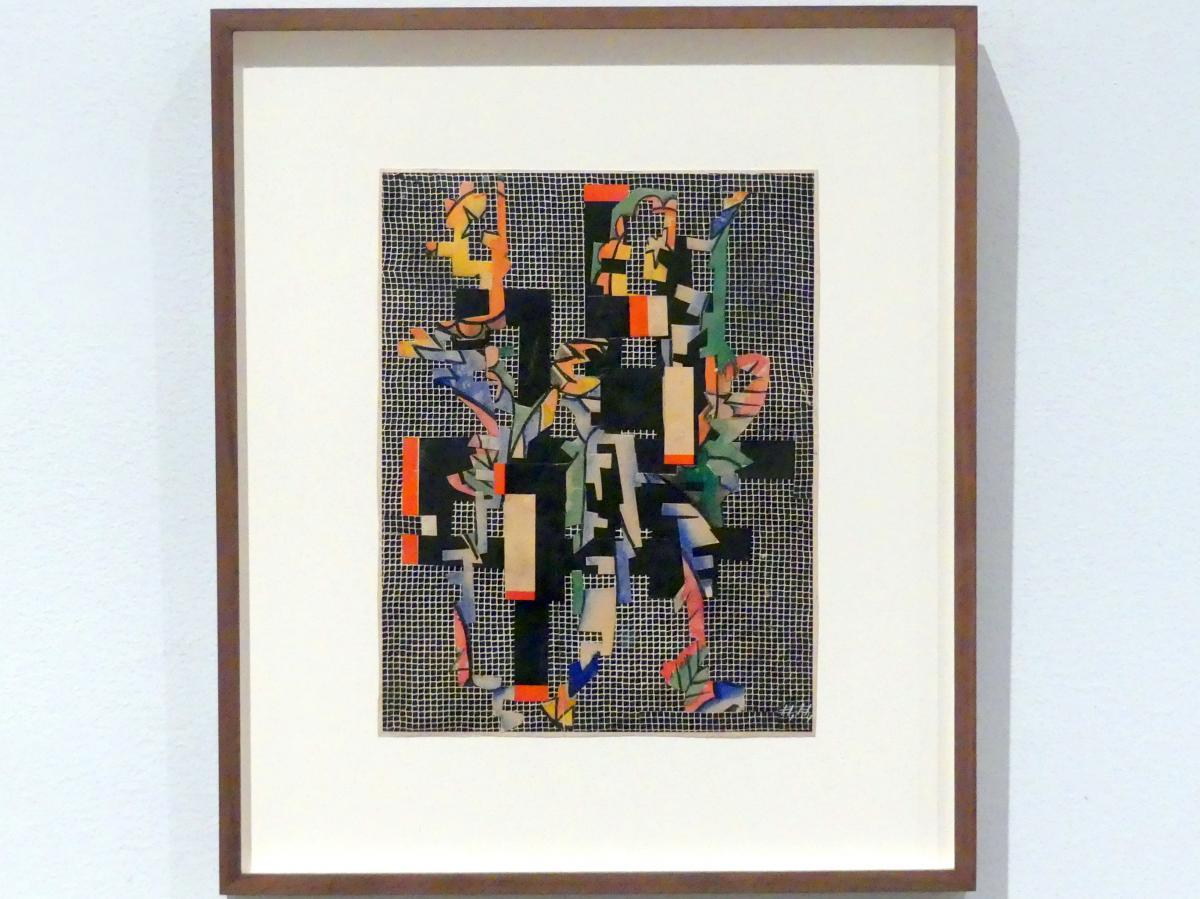 Hannah Höch: Collage II (Auf Filetgrund), um 1925