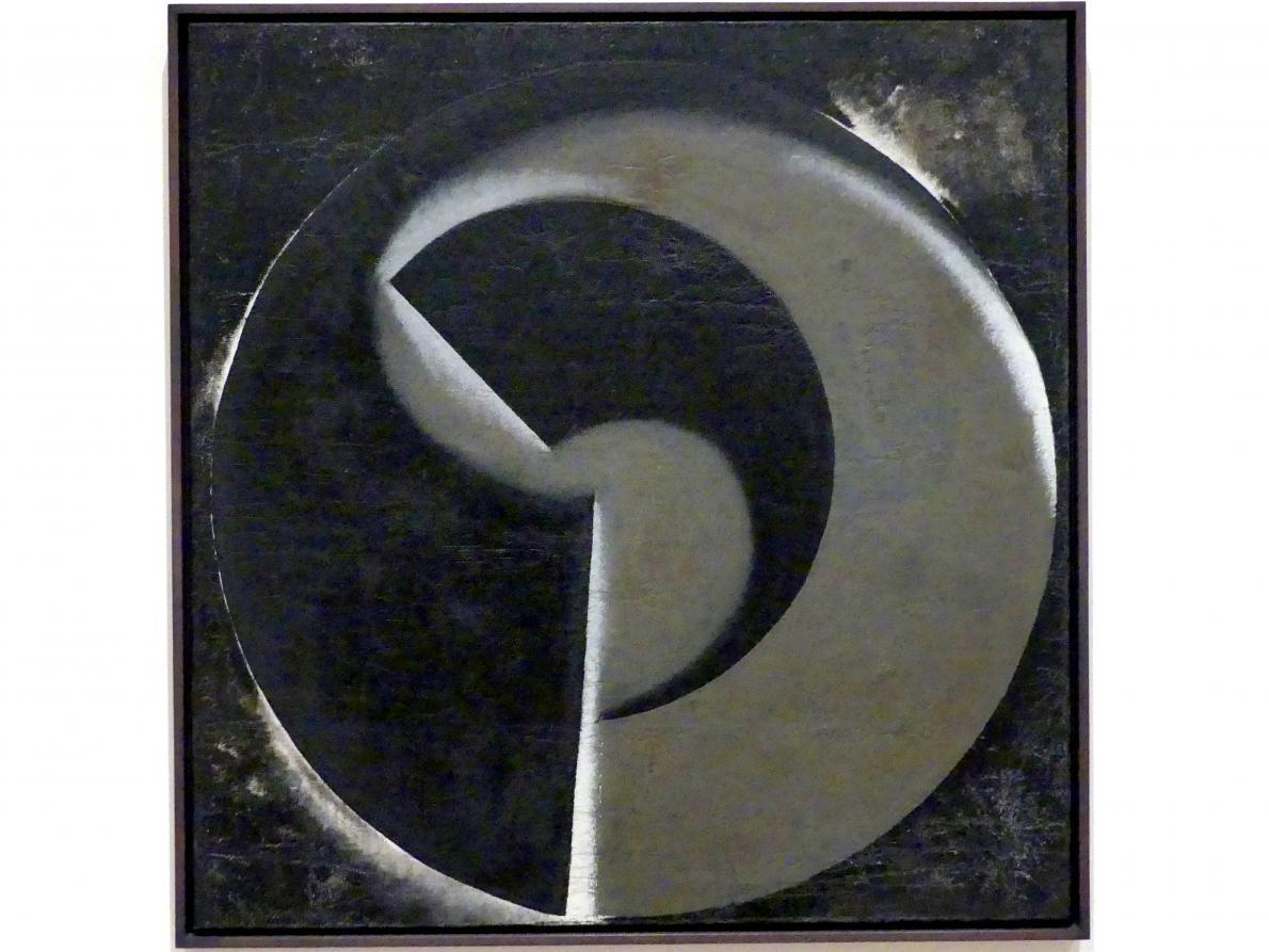 Alexander Michailowitsch Rodtschenko: Nicht-objektives Gemälde Nr. 80 (Schwarz auf Schwarz), 1918