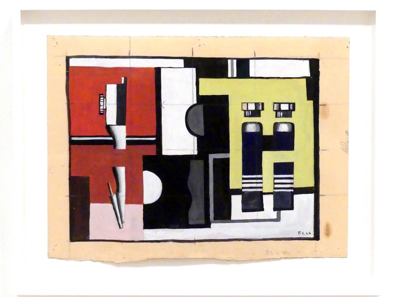 Fernand Léger: Kompass und Farbtuben, 1926