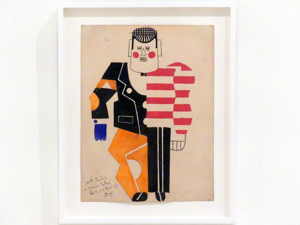Fernand Léger: Denkmentwurf für das Ballett Eislaufbahn, 1922