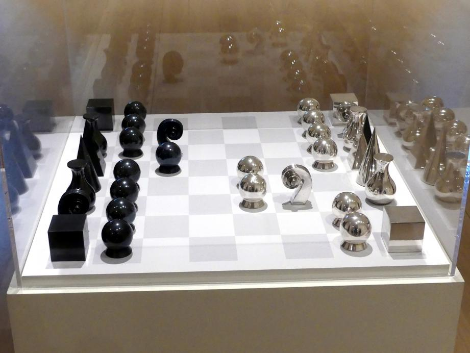 Man Ray: Schachspiel, 1920 - 1926