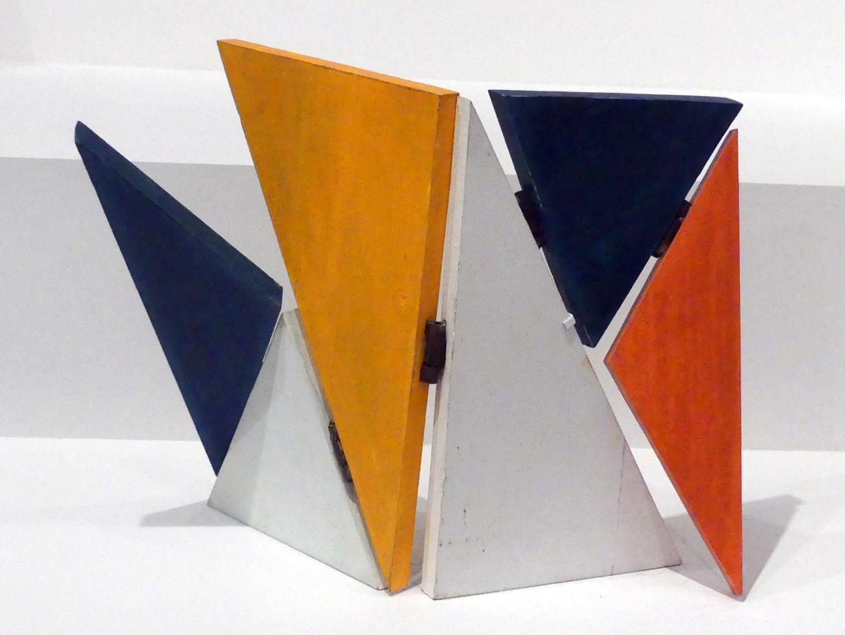 Sandu Darié: Fünf-Punkt-Eins-Umgebung, um 1950 - 1960
