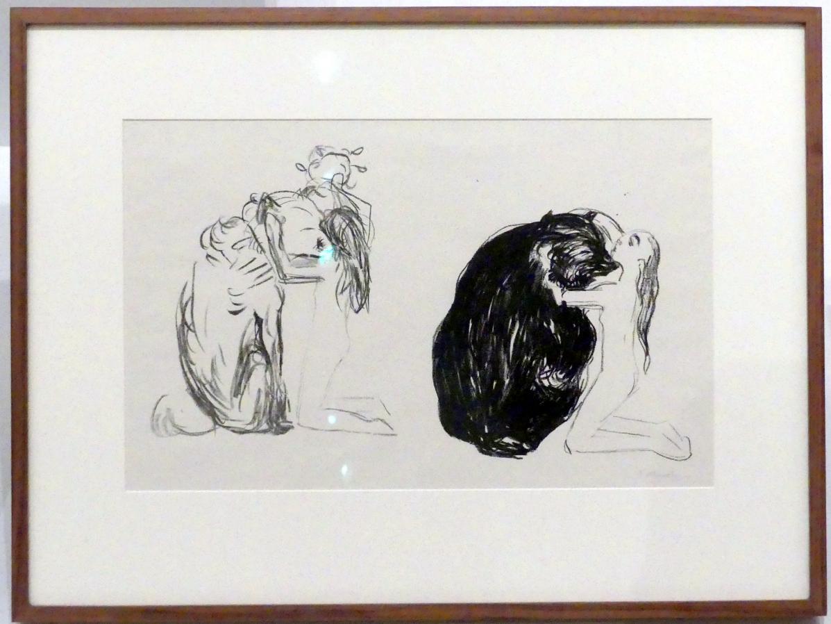 Edvard Munch: Der Bär, 1908 - 1909