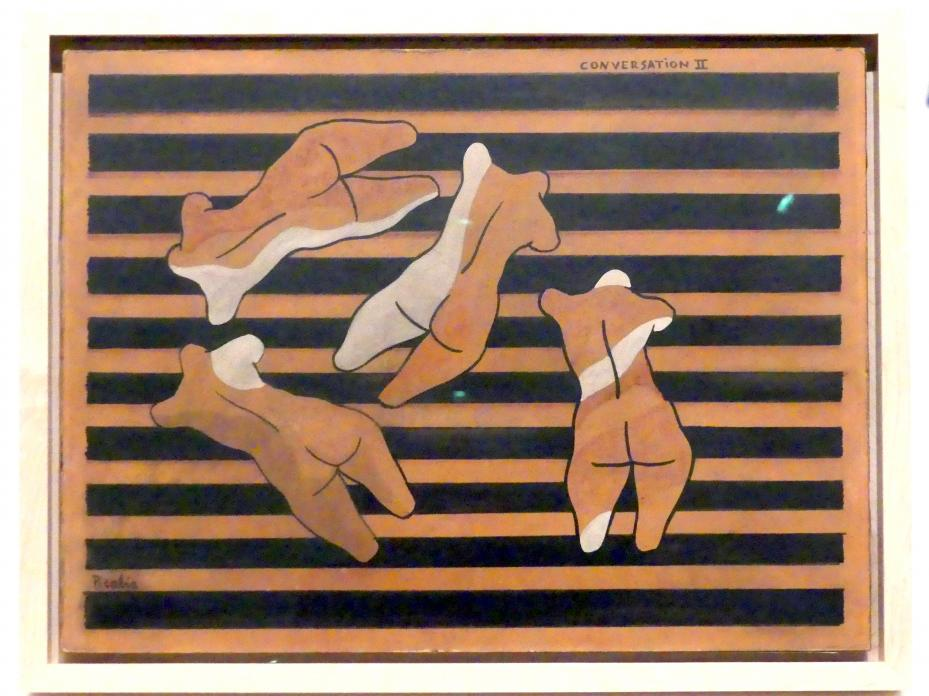 Francis Picabia: Konversation II, um 1922