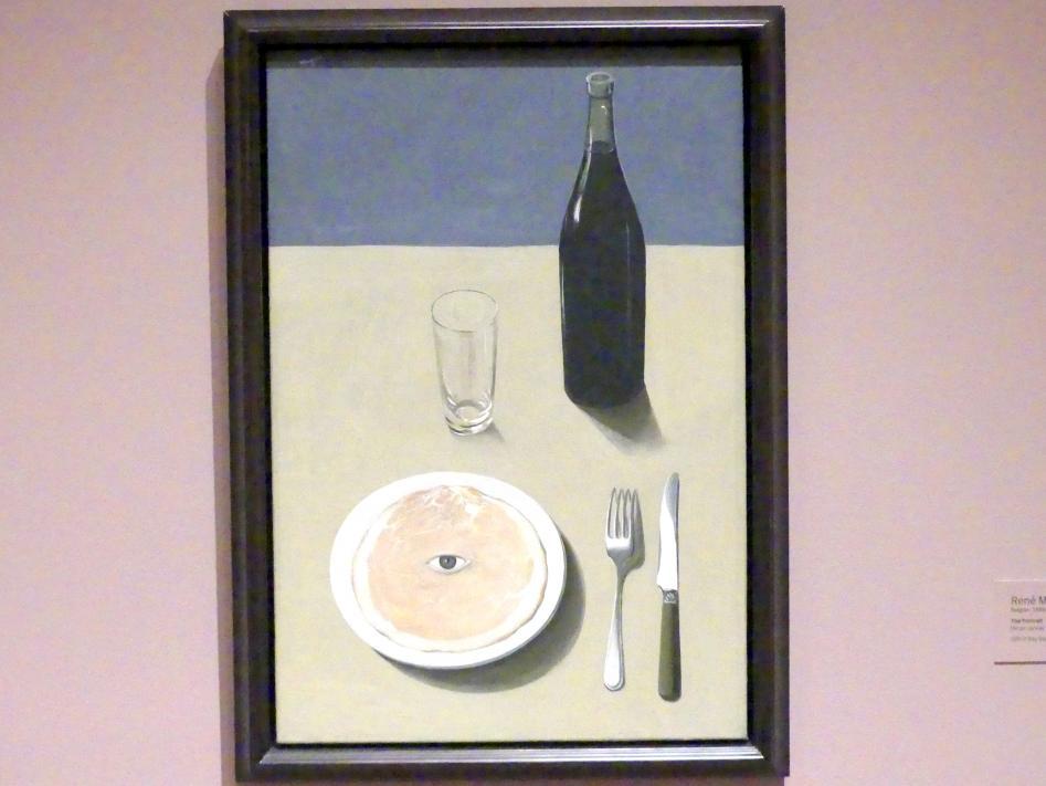 René Magritte: Das Porträt, 1935