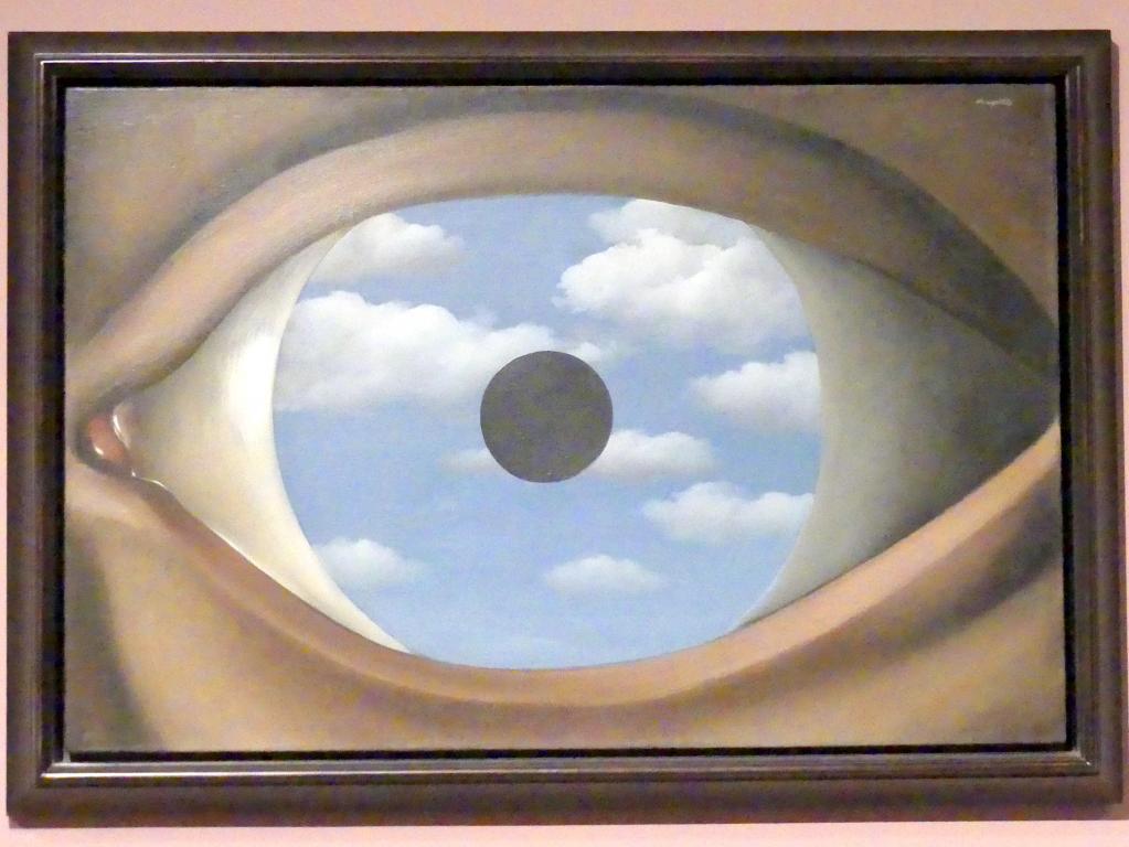 René Magritte: Der falsche Spiegel, 1929