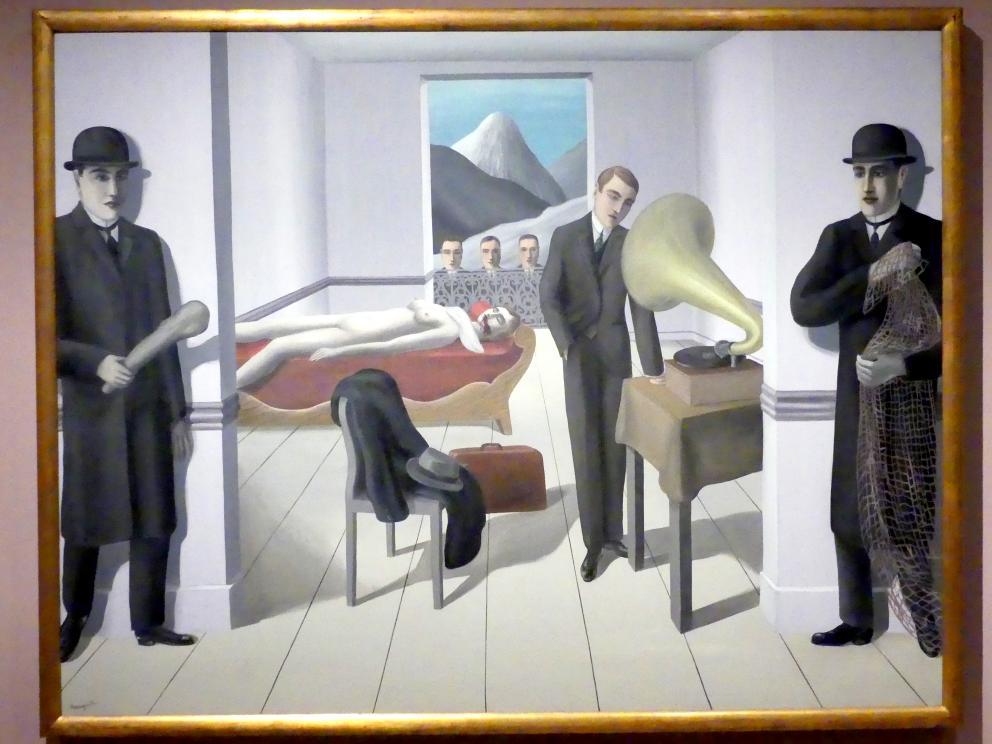 René Magritte: Der bedrohte Attentäter, 1927