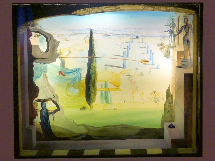 Salvador Dalí: Das kleine Theater, 1934