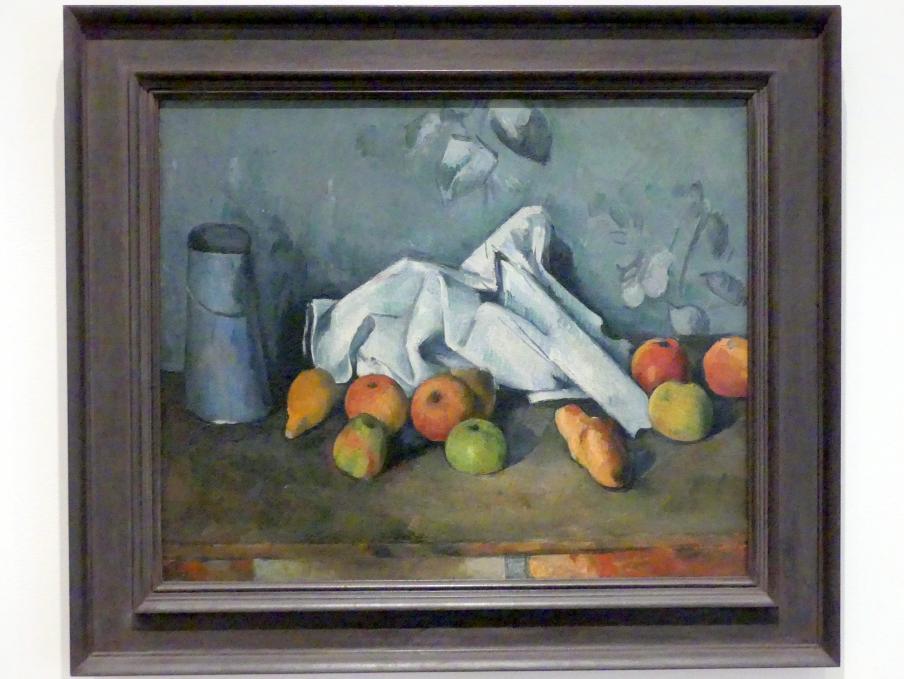 Paul Cézanne: Milchkanne und Äpfel, 1879 - 1880
