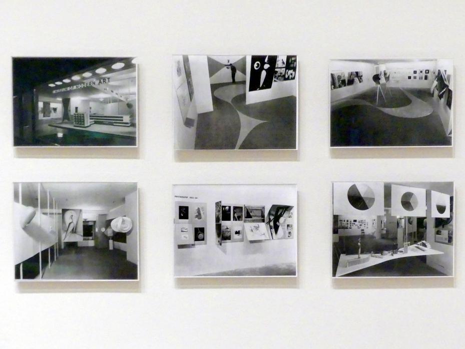 """Soichi Sunami: Ausstelleransicht der Ausstellung """"Bauhaus: 1919-1928"""", Museum of Modern Art, New York, 7. Dezember 1938 - 30. Januar 1939, 1939"""