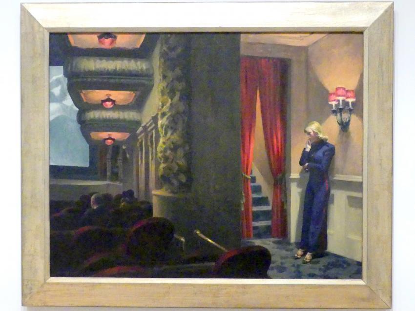 Edward Hopper: New York-Film, 1939