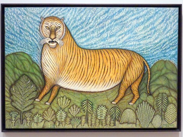 Morris Hirshfield: Tiger, 1940