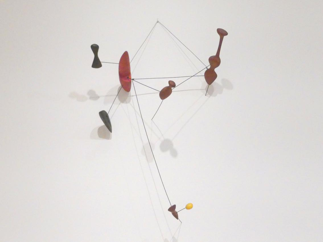 Alexander Calder: Sternbild mit rotem Objekt, 1943