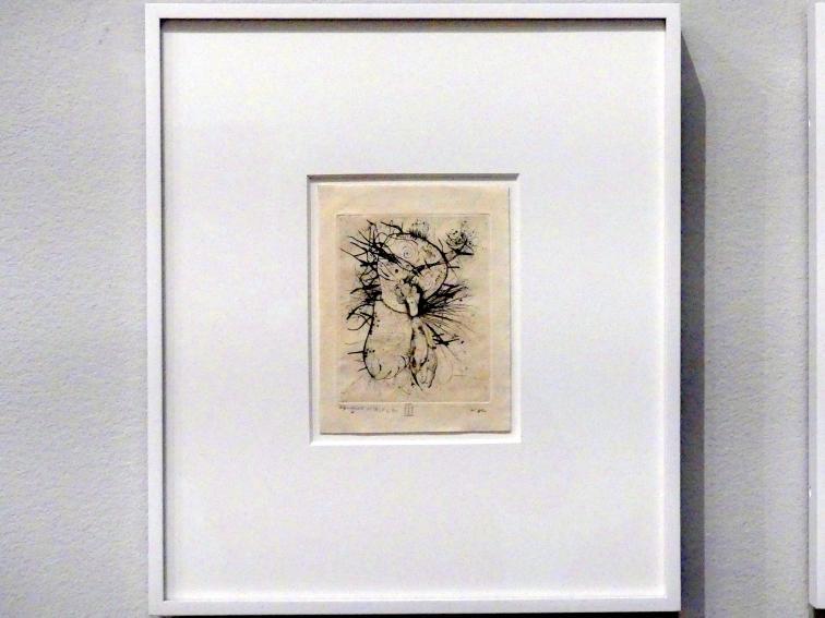 Wols ( Alfred Otto Wolfgang Schulze): Tafel 2 aus dem Bildband Naturelles von René de Solier, um 1946