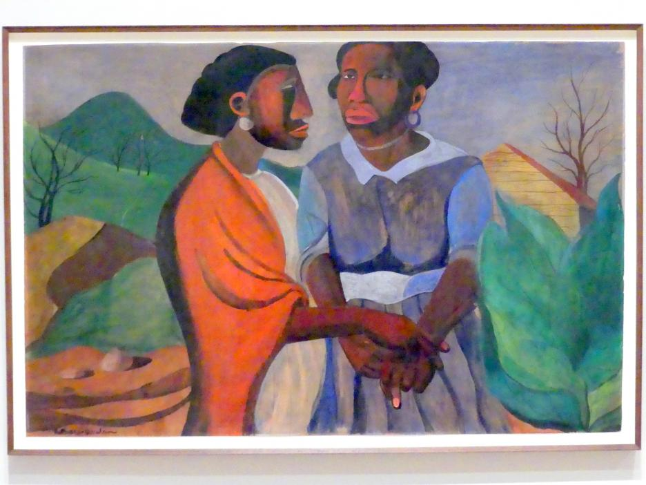 Romare Bearden: Mariä Heimsuchung, 1941