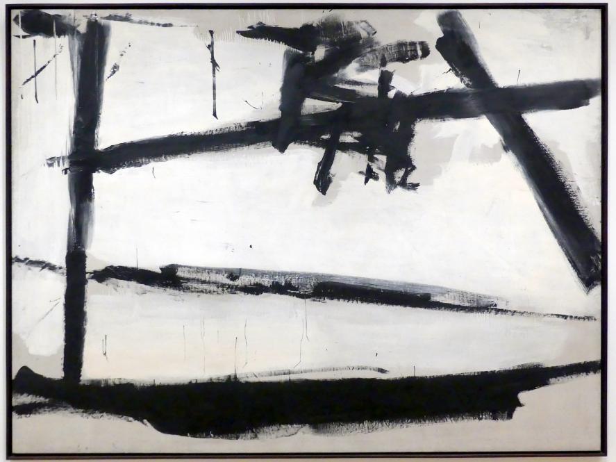 Franz Kline: Gemälde Nummer 2, 1954