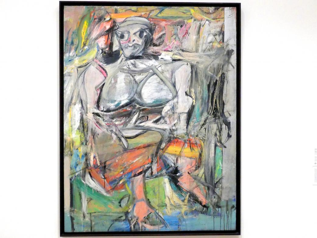 Willem de Kooning: Frau I, 1950 - 1952