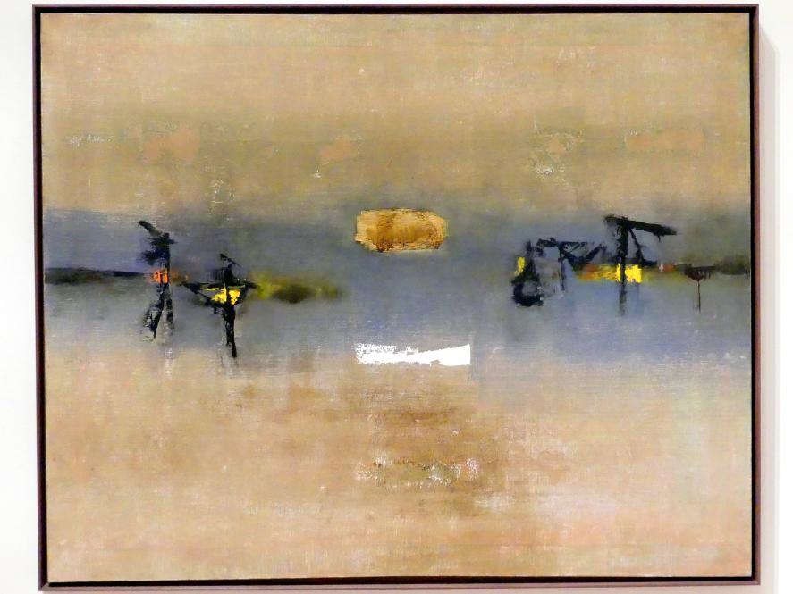 Vasudeo S. Gaitonde: Gemälde, 4, 1962