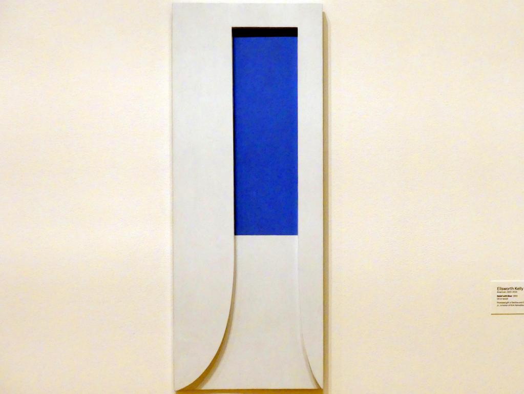 Ellsworth Kelly: Relief mit Blau, 1950