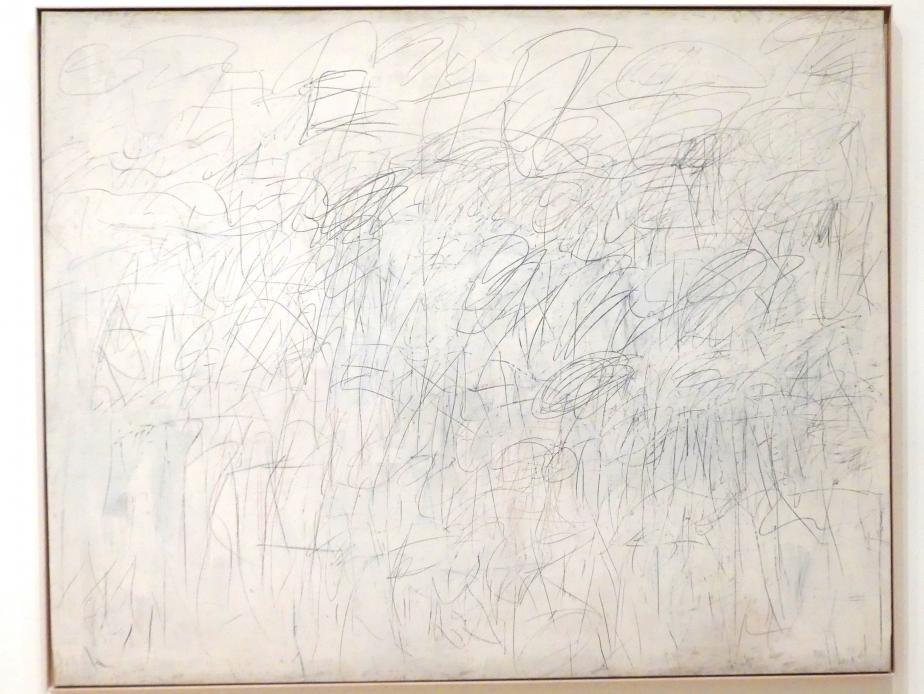 Cy Twombly: Akademie, 1955