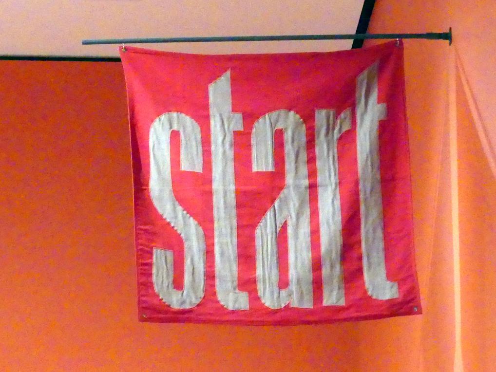 George Brecht: Start, um 1966