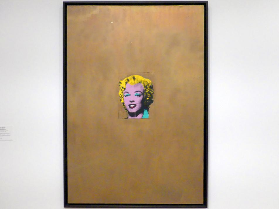 Andy Warhol: Gold Marilyn Monroe, 1962